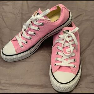 Pink Low Top Converse Chuck Taylor All Stars